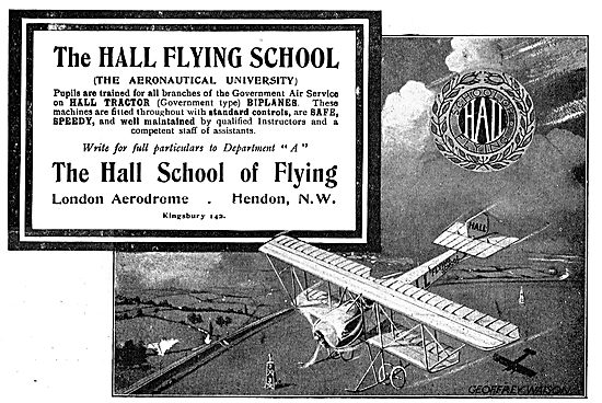 Hall School Of Flying - The Aeronautical University