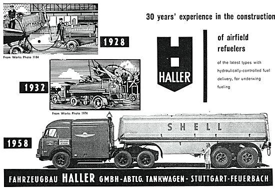 Haller Airfield Refuellers