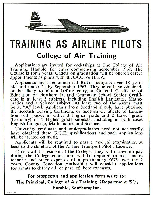 College Of Air Training Hamble