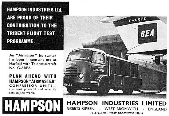Hampson Airmaster Mobile Jet Starter