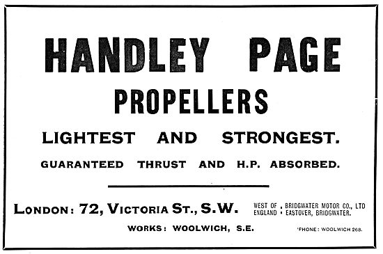Handley Page Propellers
