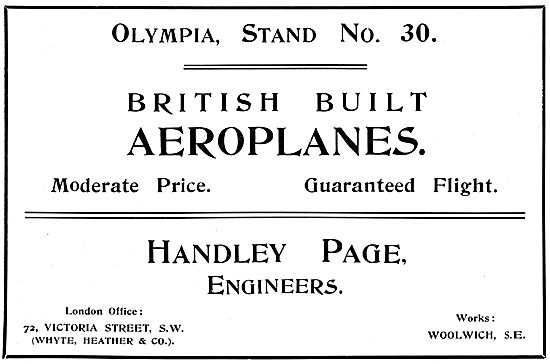 Handley Page Aircraft & Components
