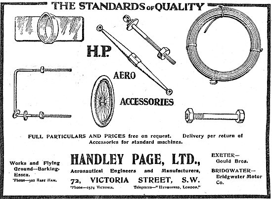 Handley Page Aero Accessories