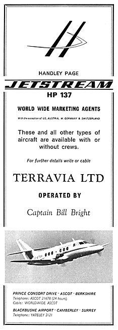 Terravia Ltd Marketing Agents - Handley Page HP137 Jetstream