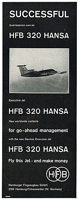 HFB 320 Hansa Executive Jet