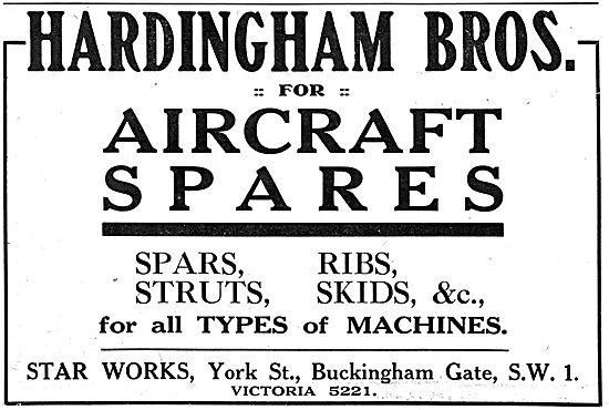 Hardingham Bros - Aircraft Spares