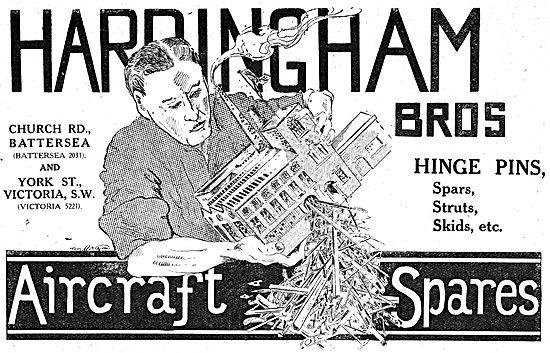 Hardingham Bros - Spars, Struts, Skids Etc