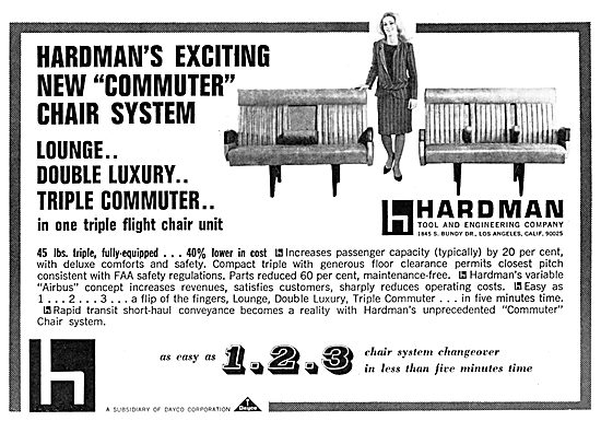 Hardman's  Aircraft Seating