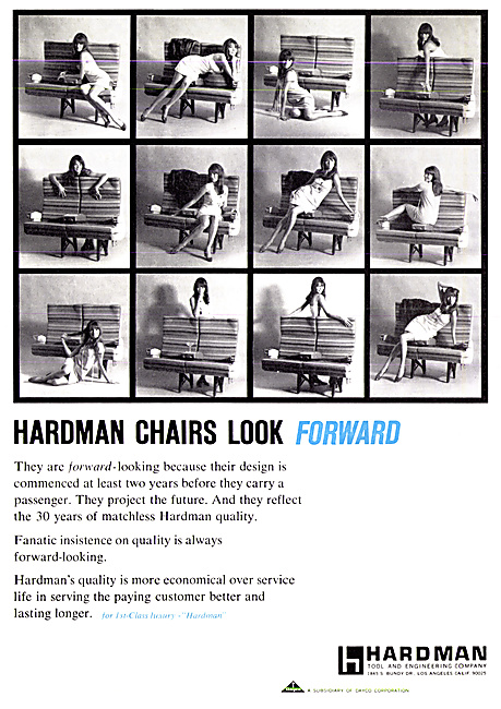 Hardman Tool & Engineering Co - Aircraft Seating