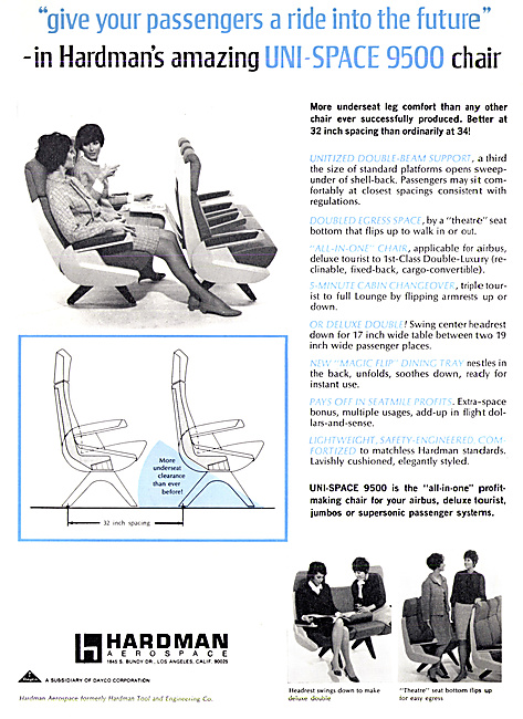 Hardman Aerospace  Aircraft Seating