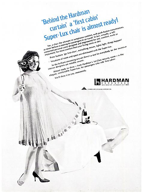 Hardman Aerospace  Aircraft Seating 1968