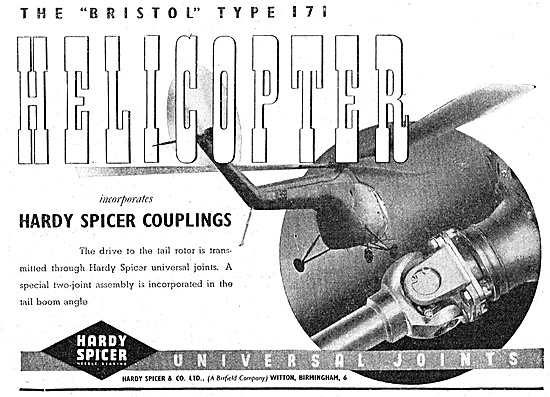 Hardy Spicer Couplings & Universal Joints