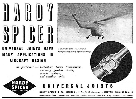 Hardy Spicer Universal Joints
