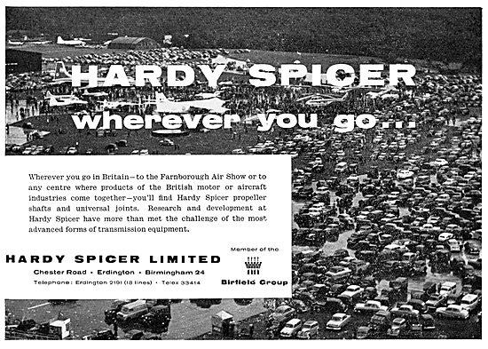 Hardy Spicer Propeller Shafts & Universal Joints
