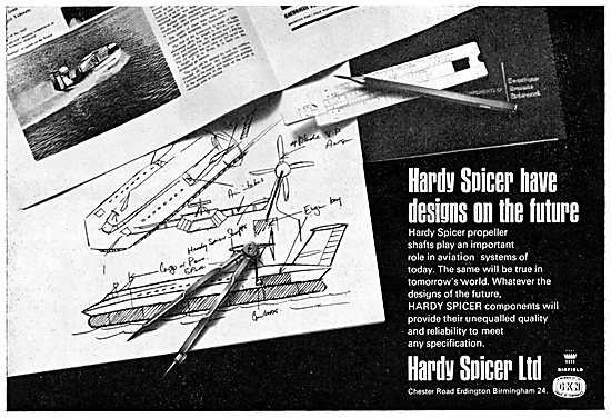 Hardy Spicer Universal Joints & Transmission Components