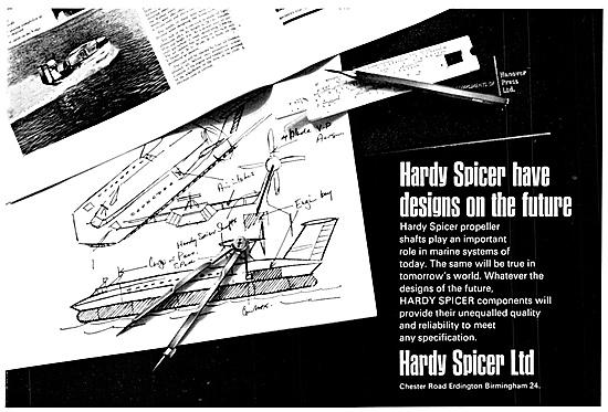 Hardy Spicer Propeller Shafts & Transmission Equipment