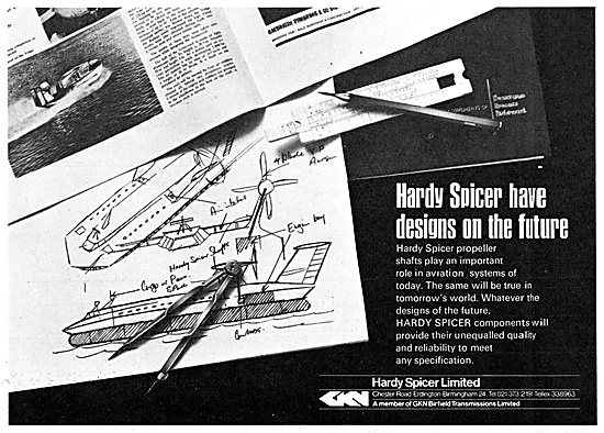 Hardy Spicer Universal Joints & Transmission Equipment