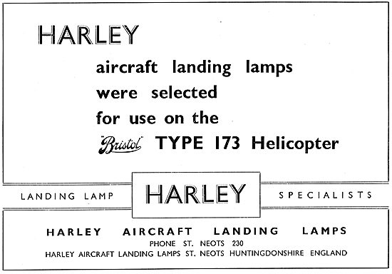Harley Aircraft Landing Lamps & Aircraft Lighting