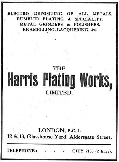 The Harris Plating Works - Metal Platings & Treatments