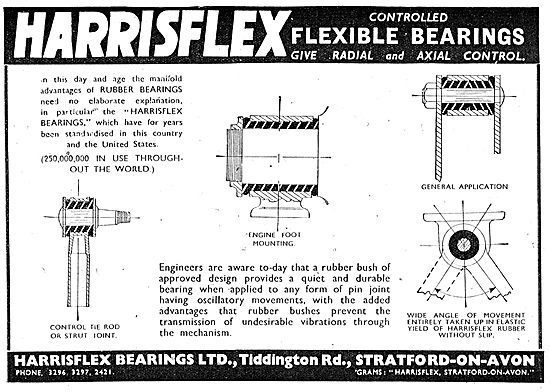 Harrisflex Bearings Flexible Bearings.
