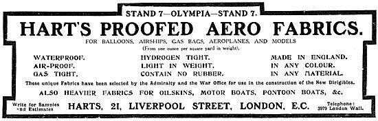Harts Proofed Aero Fabrics