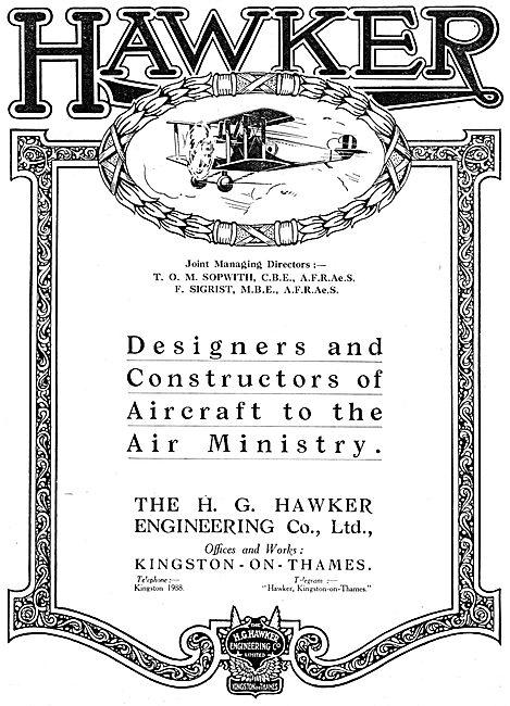 Hawker Aircraft