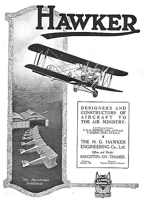Hawker Aircraft. Brooklands