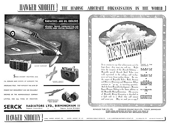 Hawker Siddeley - Serck Radiators  - Reynolds Tube Co