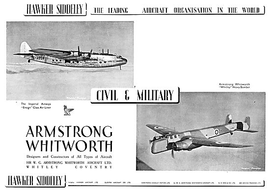Hawker Siddeley : Armstrong Whitworth