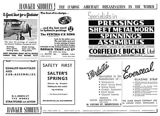 Hawker Siddeley : Corfiled & Buckle