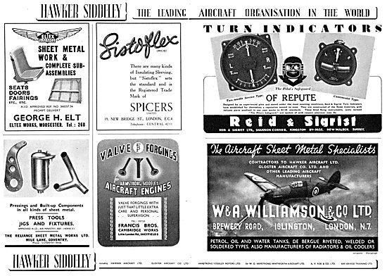 Hawker Siddeley ; George Elt : Spicers Listoflex