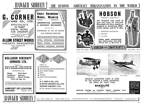 Hawker Siddeley : H.M.Hobson