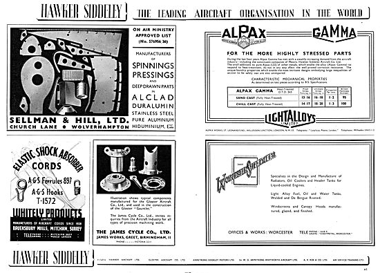 Hawker Siddeley : Sellman & Hill