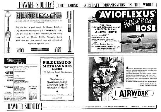 Hawker Siddeley : C.Lindley & Co Ltd. Tungum Sales Co Ltd