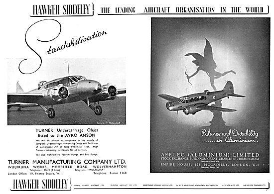 Hawker Siddeley : Turner Manufacturing Company Ltd