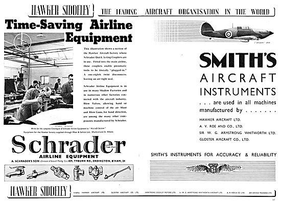 Hawker Siddeley : Schrader. A.Schrader's Son