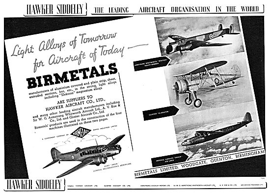 Hawker Siddeley : Birmetals Ltd