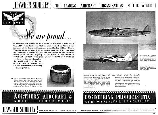 Hawker Siddeley : Northern Aircraft & Engineering Products Ltd