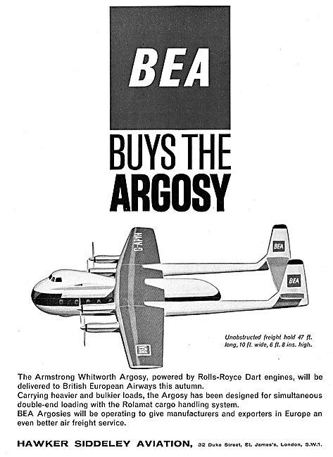 Hawker Siddeley  Armstrong Whitworth Argosy