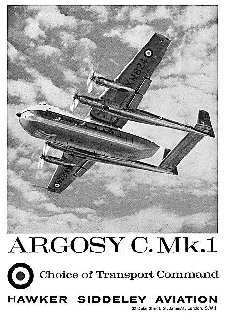 Hawker Siddeley  Armstrong Whitworth Argosy C Mk 1 For RAF