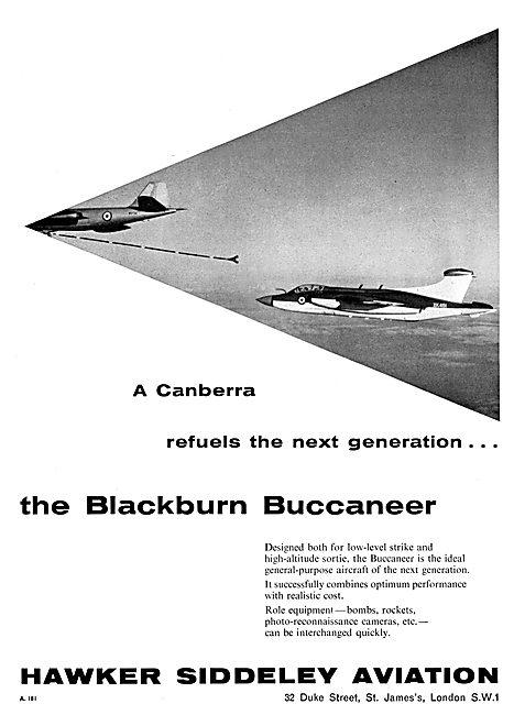 Blackburn Buccaneer - Hawker Siddeley Aviation