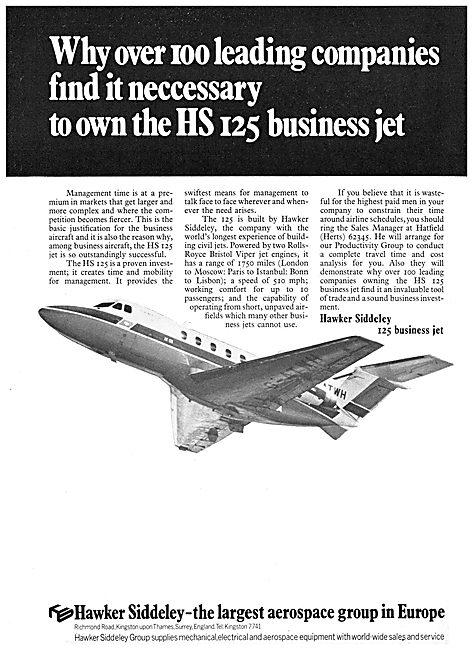 Hawker Siddeley HS 125