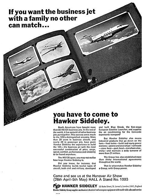Hawker Siddeley HS125