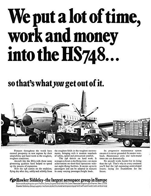 Hawker Siddeley 748  HS748