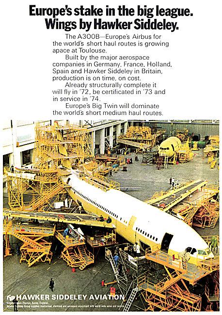 Hawker Siddeley - Airbus A300B