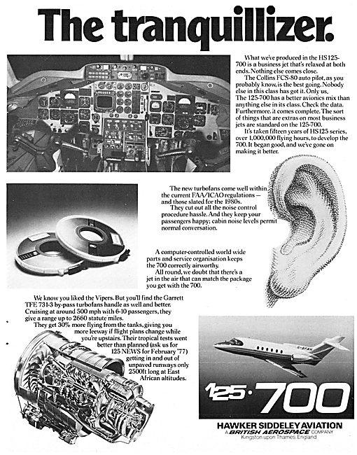 Hawker Siddeley HS 125-700