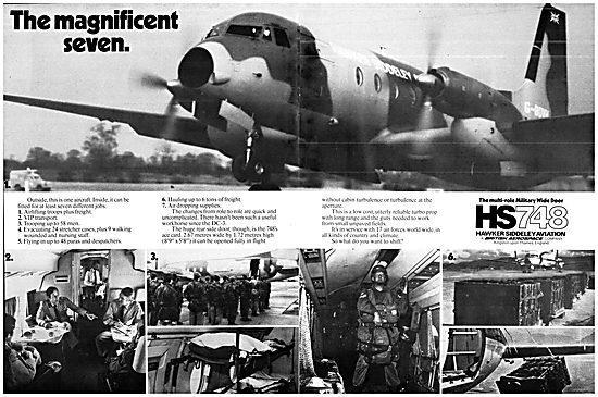 Hawker Siddeley 748 HS 748