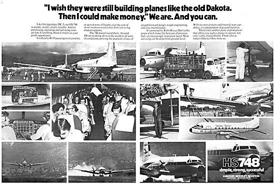 Hawker Siddeley HS 748