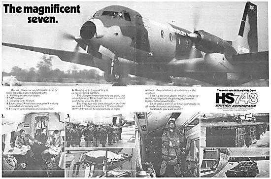 BRitish Aerospace HS748
