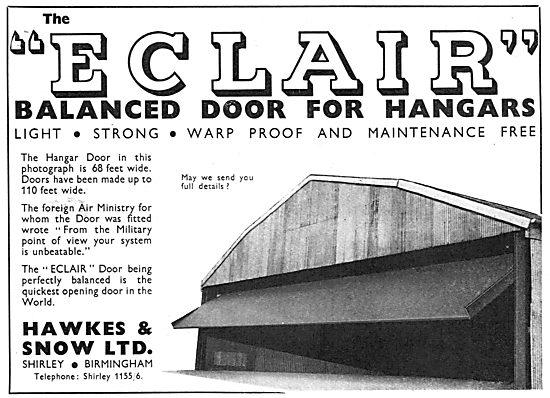Hawkes & Snow Shirley Birmingham - Eclair Hangar Doors